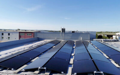 We effectively protect the climate! With own electricity from photovoltaics